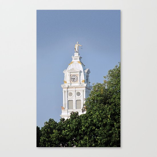 Henry County Courthouse (III) Canvas Print