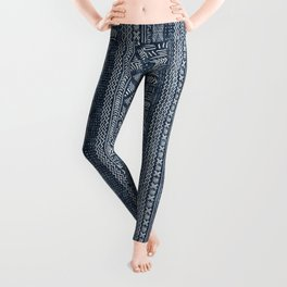 Mud Cloth Stripe Leggings
