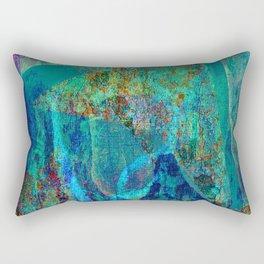 Abstract - Paintng Rectangular Pillow