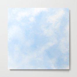 Soft Pale Blue Sky Metal Print