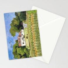 summer cottage Stationery Cards