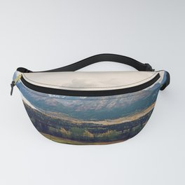 Fall Alaskan Mountain Crisp Landscape Fanny Pack