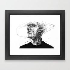 frail lull Framed Art Print