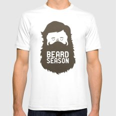 Beard Season Mens Fitted Tee White X-LARGE