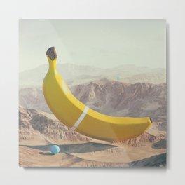 Banana Land Metal Print