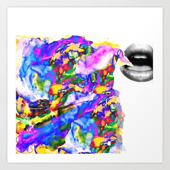 i said so Art Print