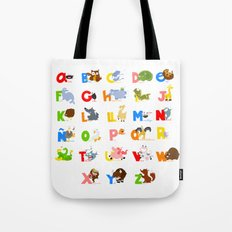 ABC (spanish) Tote Bag