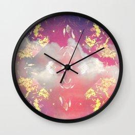 SWIM IN SALIVA #4 Wall Clock