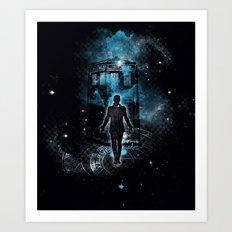 Time Traveller Art Print