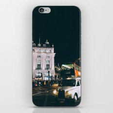 Piccadilly Cirkus by Night iPhone & iPod Skin