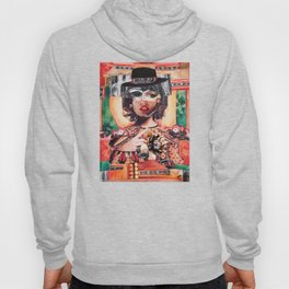 Amour rouge corail Hoody