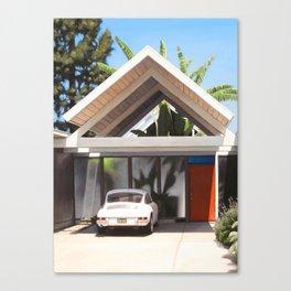 Eichler With Car Canvas Print