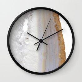 Caramelizing sugar Wall Clock
