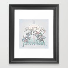 Fantasy Football Framed Art Print