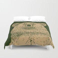 Kodiak Bear Duvet Cover
