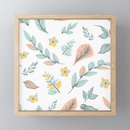 Flower Design Series 17 Framed Mini Art Print