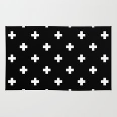 Swiss cross pattern Rug