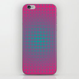 dotted fantasy iPhone Skin