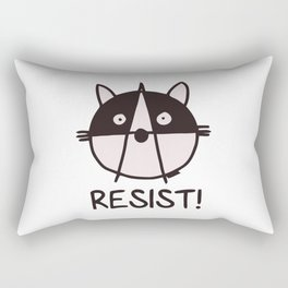 raccoons of the resistance Rectangular Pillow