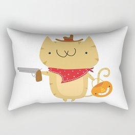 Cowboy Spanky - October Rectangular Pillow