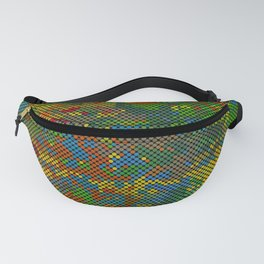 Camouflage Dots Fanny Pack