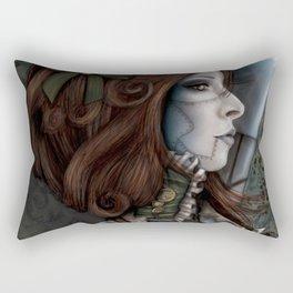 Victorian Droid Rectangular Pillow