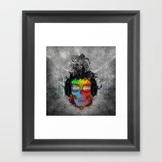 Rebel music Framed Art Print
