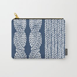Cable Row Navy 1 Carry-All Pouch