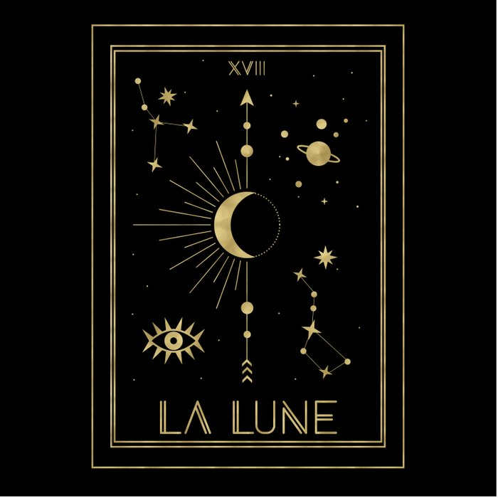 The Moon or La Lune Gold Edition Comforters