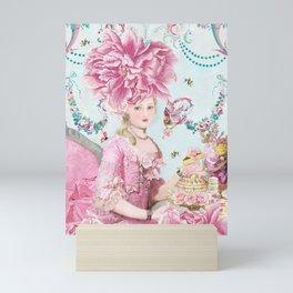 Marie Antoinette Wallflower Mini Art Print