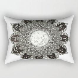 Astrology Signs Mandala Rectangular Pillow