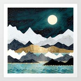Ocean Stars Art Print