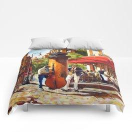 Street musicians Comforters