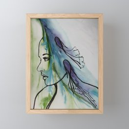 Hidden Effervescent Framed Mini Art Print