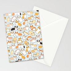 Corgilicious Corgi Doodle Stationery Cards