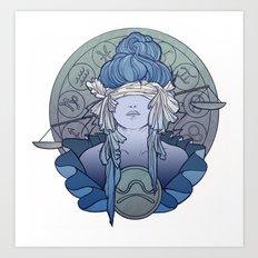 Zodiac Series | Libra Art Print