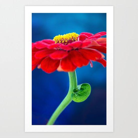 COLOR BLOCKING | RGB Art Print