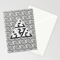 Escher Pattern Stationery Cards