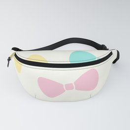 Pastel Bows Fanny Pack
