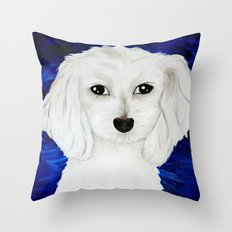 D.O.G. commissioned painting Throw Pillow