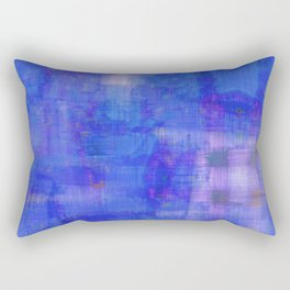 Taj Check (Blue) Rectangular Pillow
