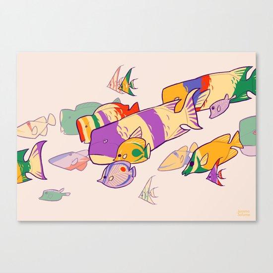 Kuih Ikan Canvas Print