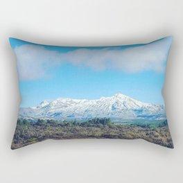 Mt Ruapahu Rectangular Pillow