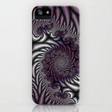 Purple and Gray iPhone (5, 5s) Slim Case