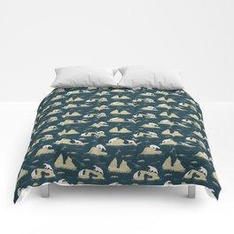 Go North - Navy Comforters