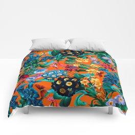 Romantic Garden VII Comforters