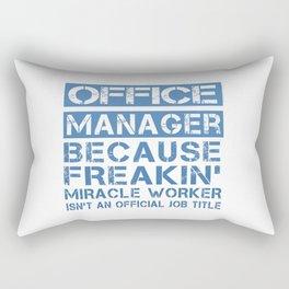 OFFICE MANAGER Rectangular Pillow