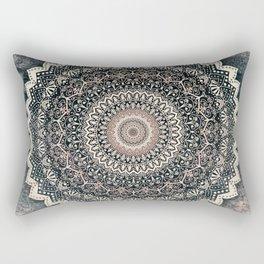 WARM WINTER MANDALA Rectangular Pillow