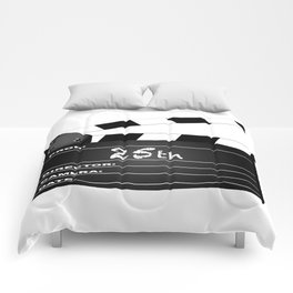 25th Year Clapperboard Comforters
