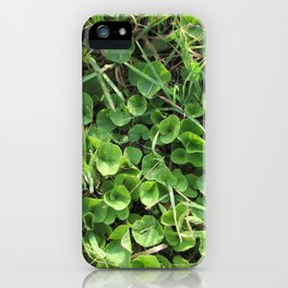 Summer Time Green iPhone Case
